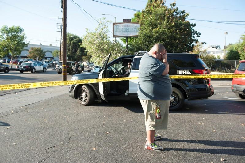 Woman killed in Los Angeles grocery store standoff was shot by police