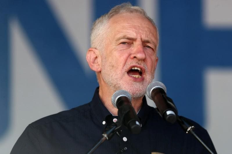UK Jewish newspapers say Labour leader Corbyn poses