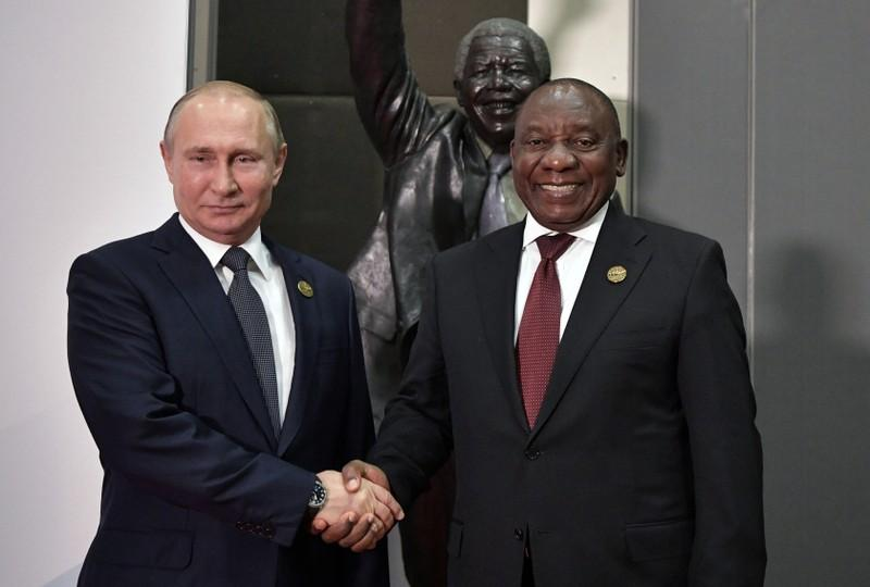 Russias Putin raises nuclear deal at Ramaphosa meeting during BRICS