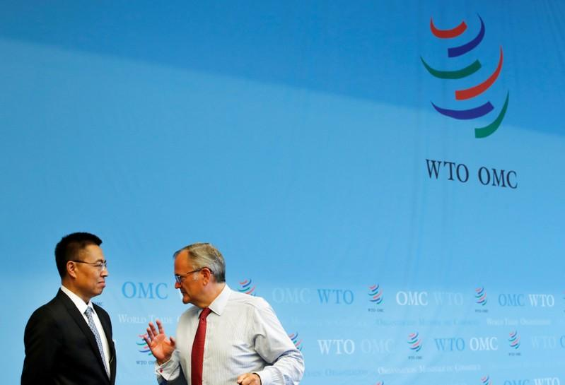US and China clash at WTO over ideology states role