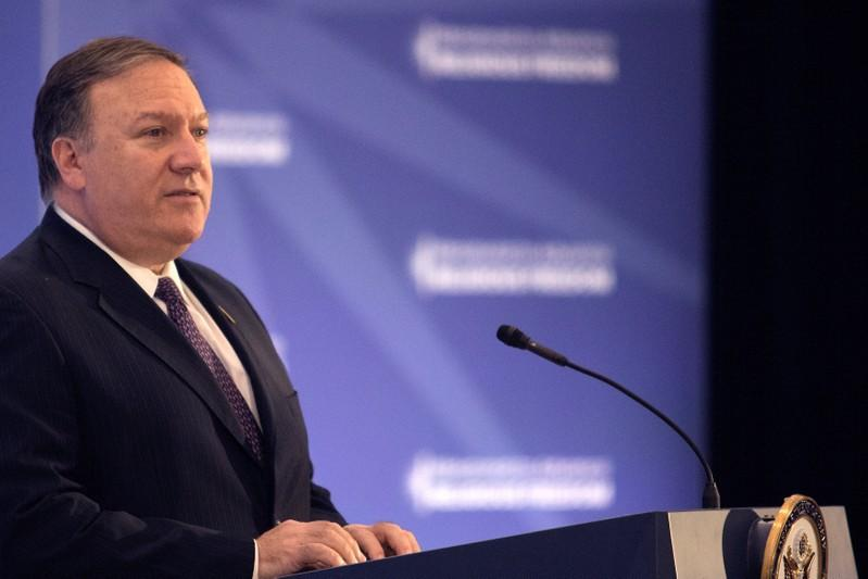U.S.' Pompeo warns against IMF bailout for Pakistan that aids China