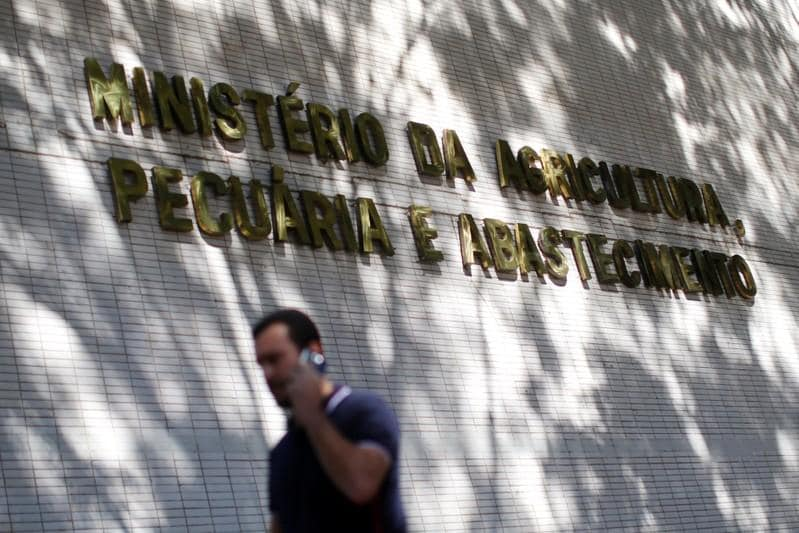 Senior aide to Brazil farm minister targeted by graft probe