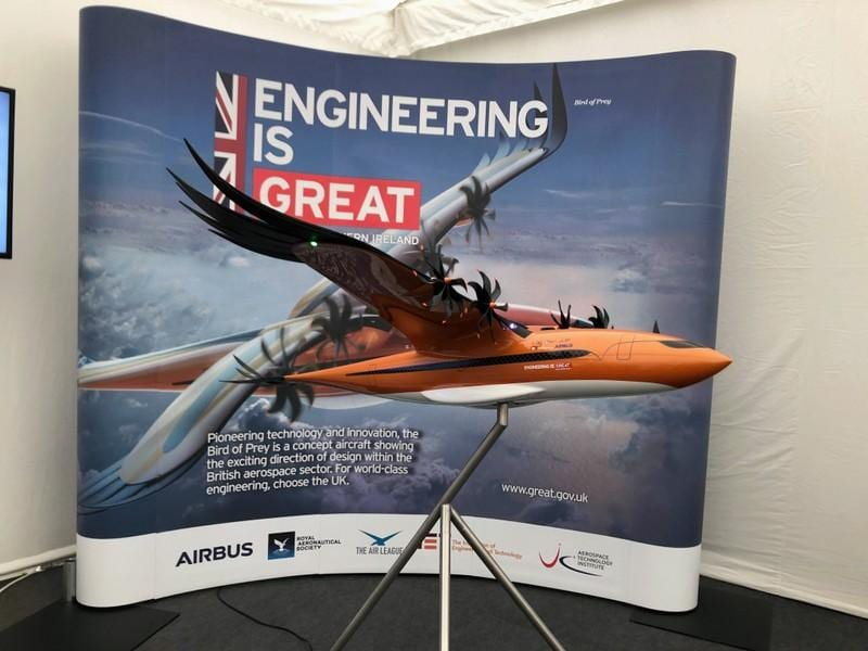 Airbus mimics nature with 'Bird of Prey' concept plane- Technology News, Firstpost
