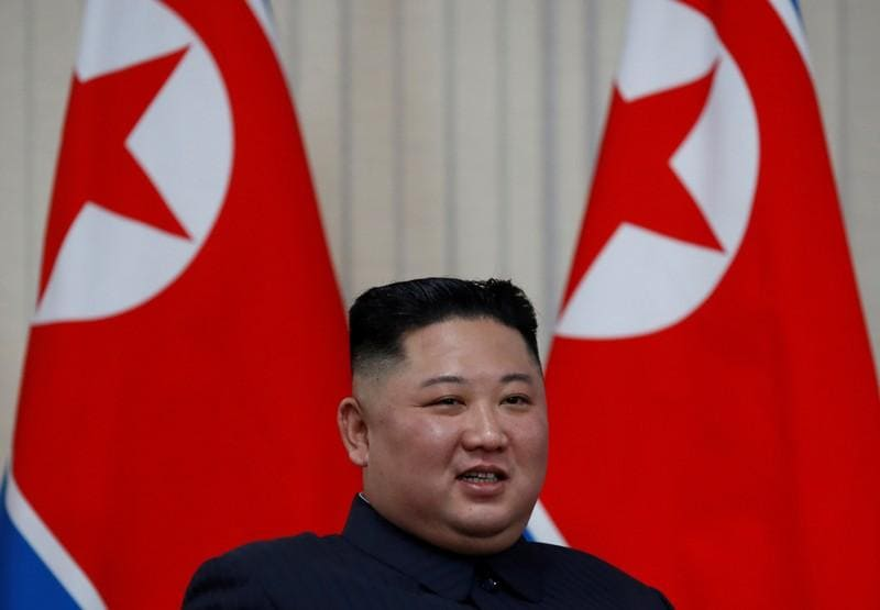 North Koreas Kim says missile launch a warning to South Korean warmongers