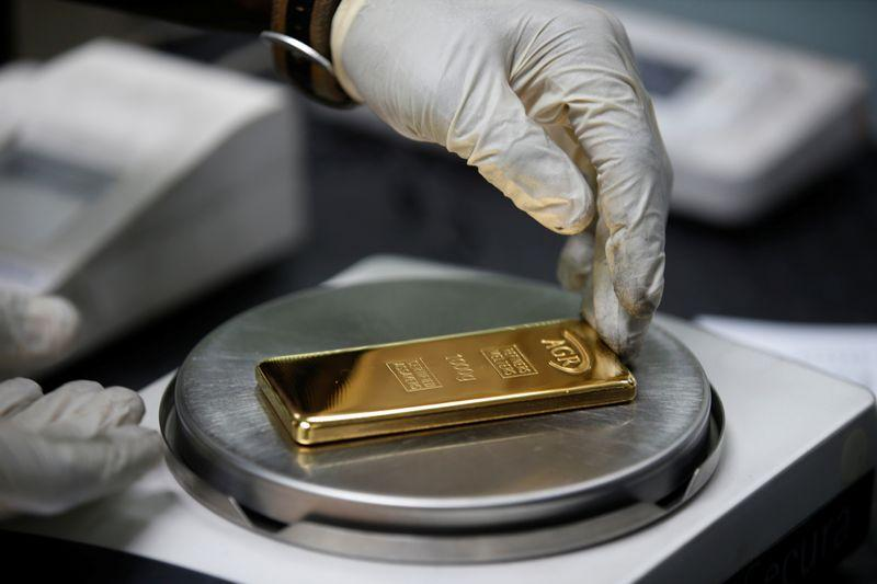 Gold steady as USChina tensions mount stronger equities cap gains
