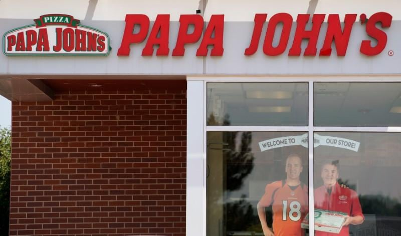 Papa Johns cuts costs for North America franchisees as sales fall