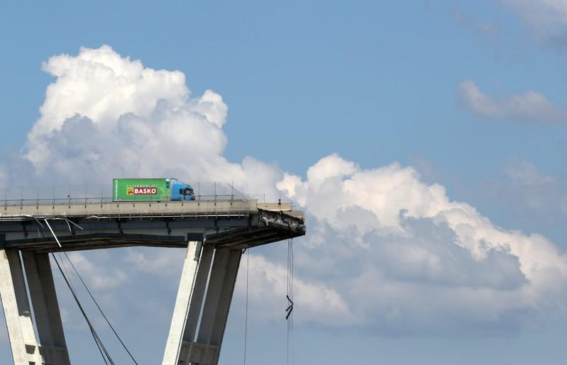 Italy highway operator scraps tolls for ambulances after bridge collapse