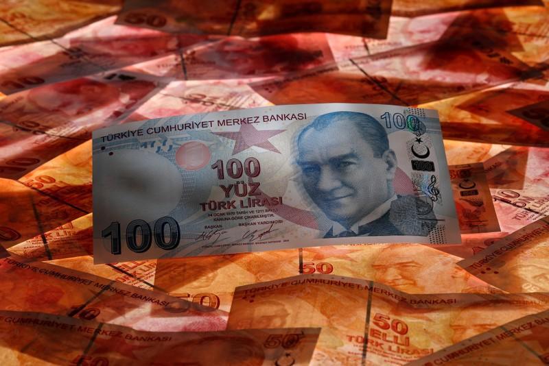 Turkey's lira weakens five percent, Trump says won't take pastor's detention 'sitting down'