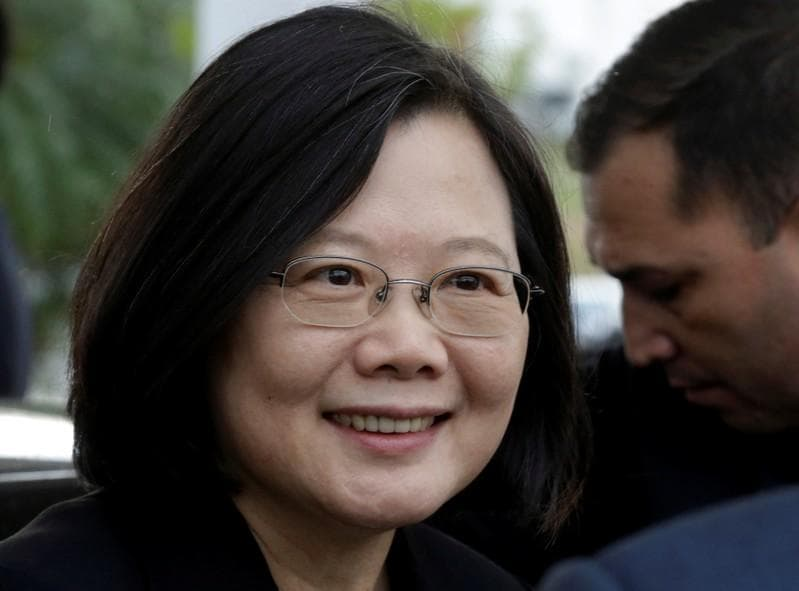 Taiwan's president lauds Belize amid dwindling support
