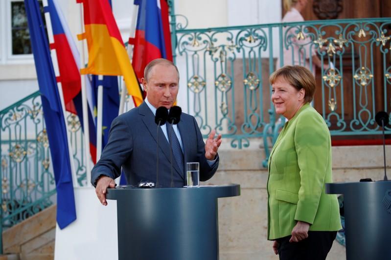 Ukraine, Iran and human rights on agenda for talks with Putin: Merkel