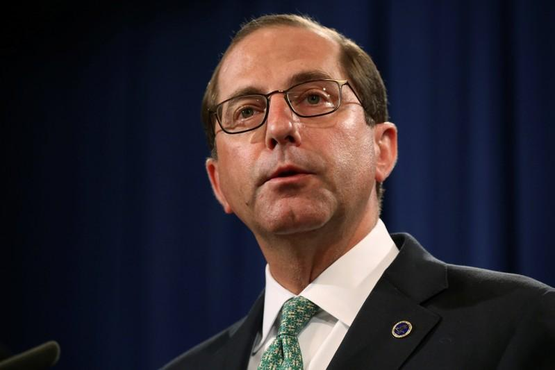 U.S. health secretary says agency can eliminate drug rebates