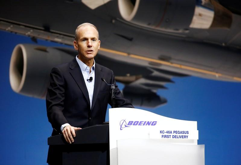 Exclusive Financial hit from 737 MAX will not slow appetite for services deals  Boeing CEO