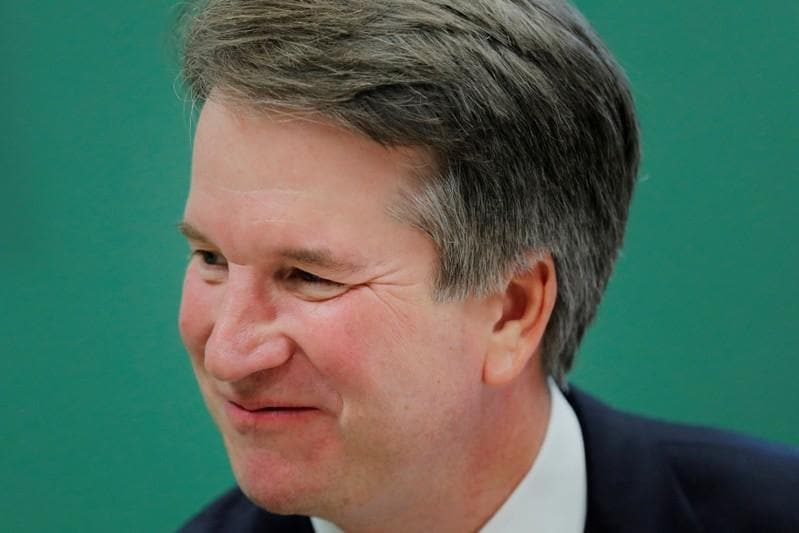 Chaos grips Senate hearing on Trump Supreme Court pick Kavanaugh