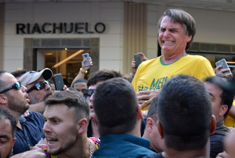 Brazil's Bolsonaro unlikely to return to presidential campaign: son