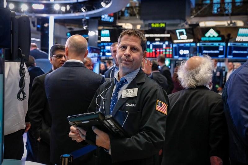 Wall Street falls as Trump greenlights China tariffs