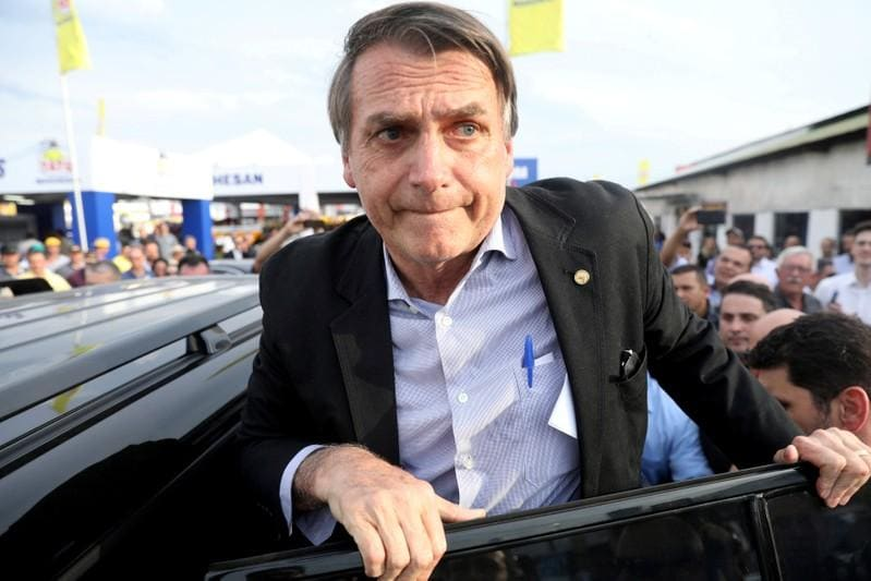 Brazil presidential candidate Bolsonaro leads with 26 percent: poll