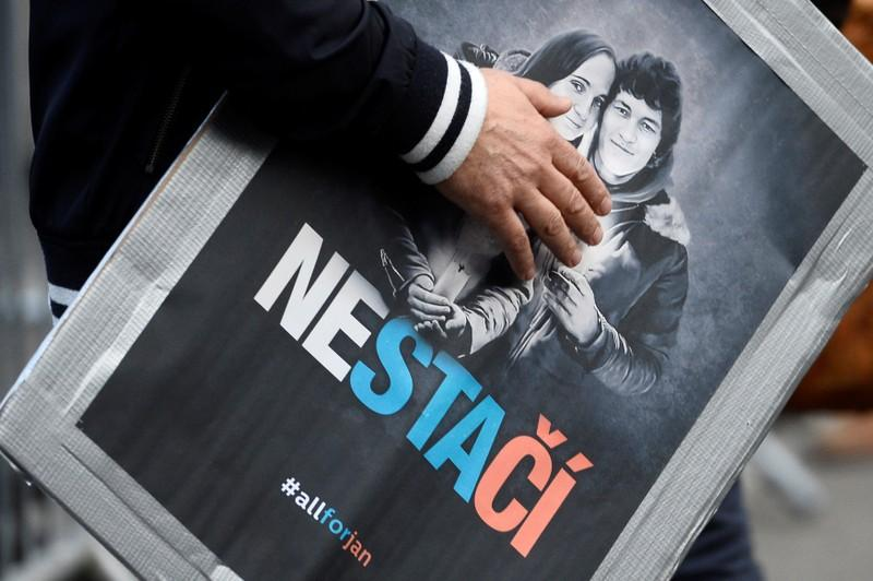 Slovak authorities identify possible witness in journalist's murder