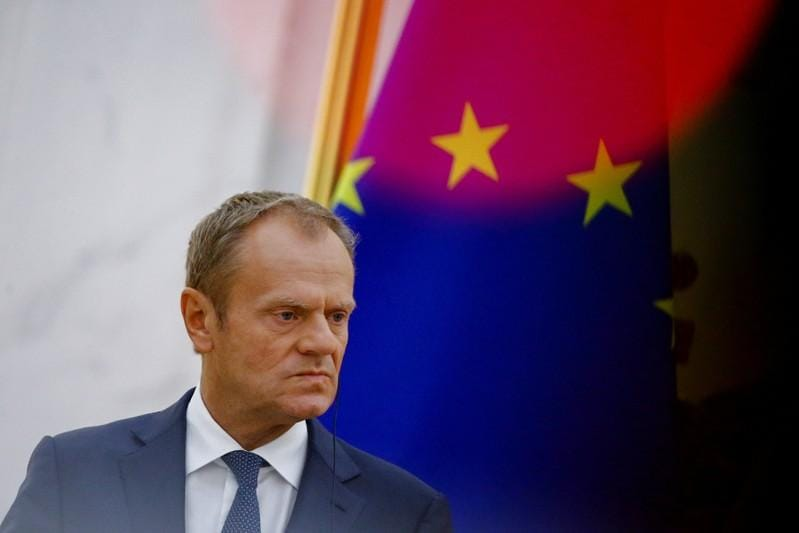 EU must end migration 'blame game': Tusk