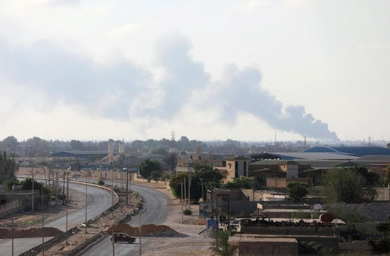 Tripoli clashes leave 115 dead, 383 injured: health ministry