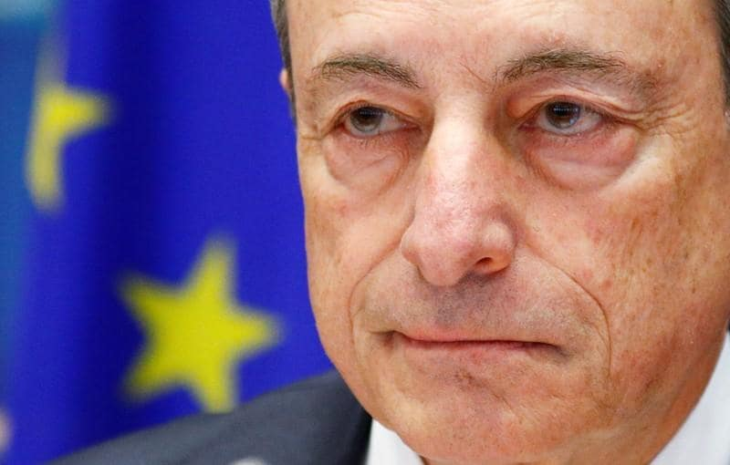 'Vigorous' inflation recovery still needs low rates: ECB's Draghi