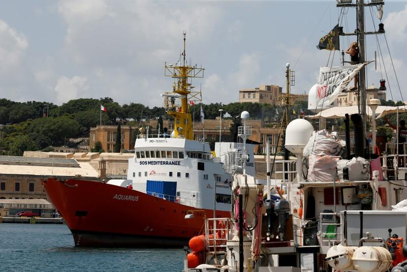 Portugal, Spain, France, Germany agree to take in Aquarius ship migrants