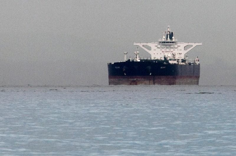 Iran oil exports fall before U.S. sanctions: global banking group