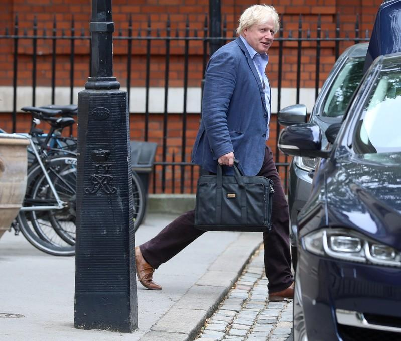 Boris Johnson swerves question on whether he will challenge UK PM May