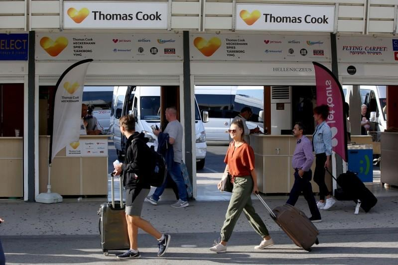 Absolutely gutted  demise of Thomas Cook wrecks travellers plans