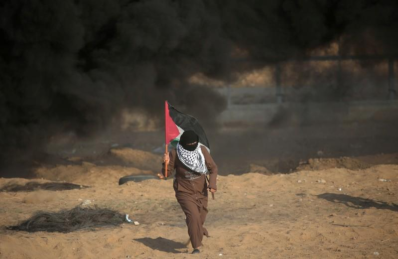 Corrected: Six Palestinians killed in border protests - Gaza health officials
