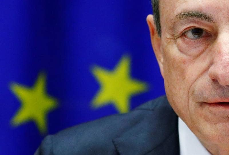 Italy must 'calm down' and stop questioning the euro - Draghi