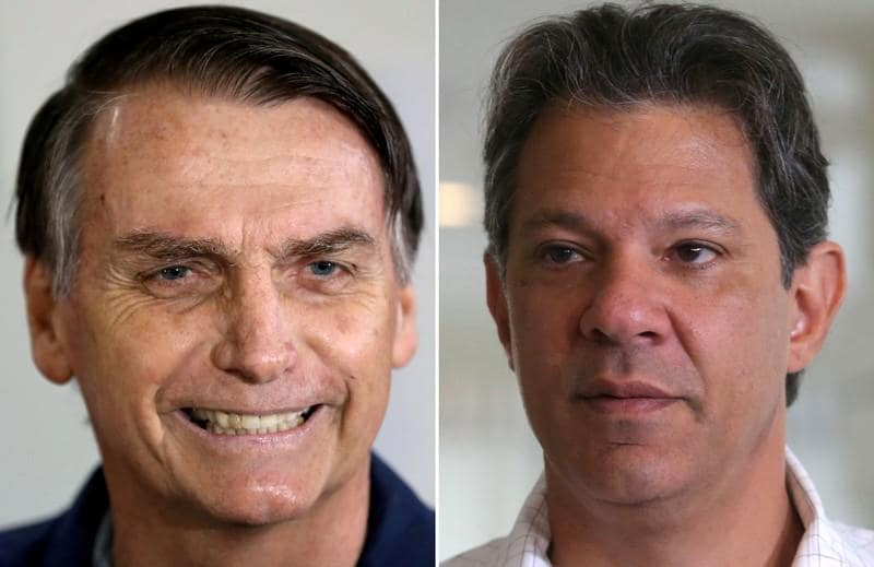 Brazil right-winger to skip debates, cannot campaign - aide