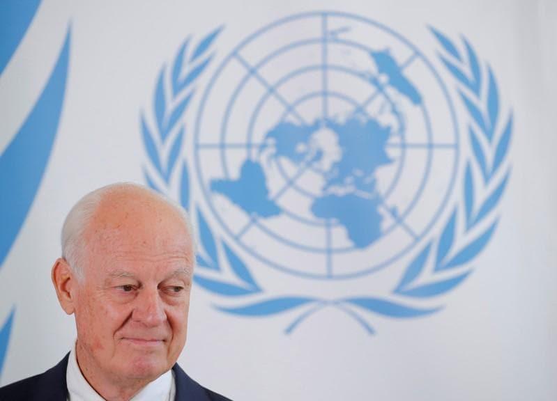 U.N. Syria envoy Staffan de Mistura to step down at end of November