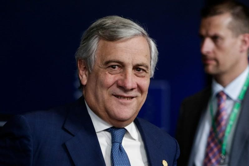 UK's May had nothing new on Brexit for summit, but tone calm - Tajani