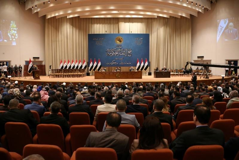 Iraqi parliament partially approves new cabinet of ministers