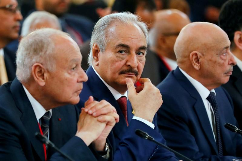 Libyan commander Haftar to attend Sicily conference, Italy says