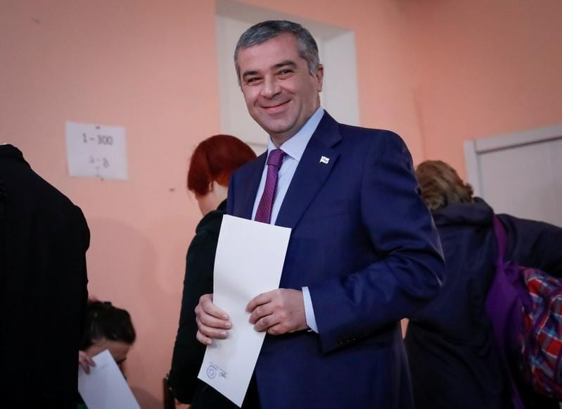 Exit polls contradictory in Georgia presidential vote