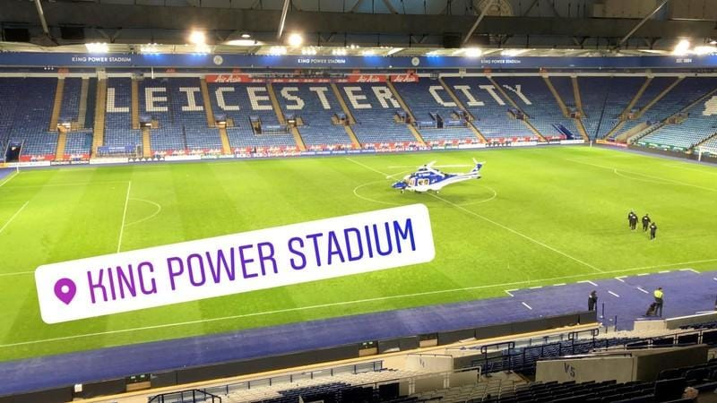 Leicester City owner and four others were on helicopter that crashed - source
