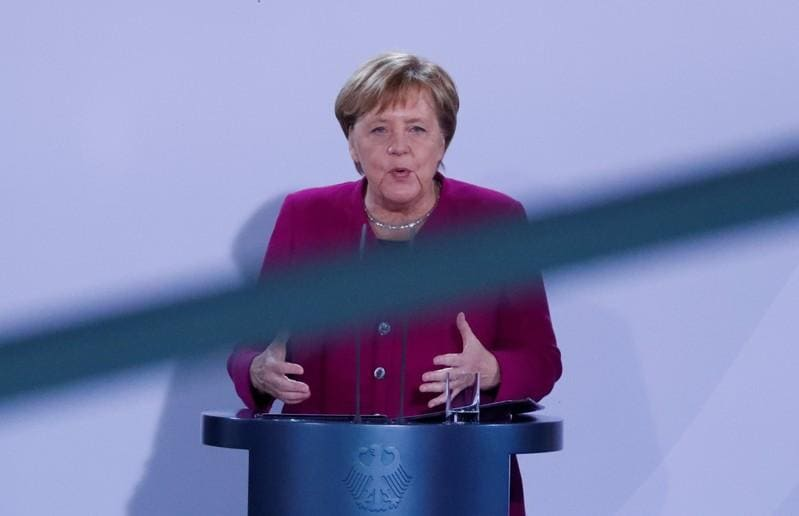 Merkel jams spanner into EU reform, but some see acceleration ahead