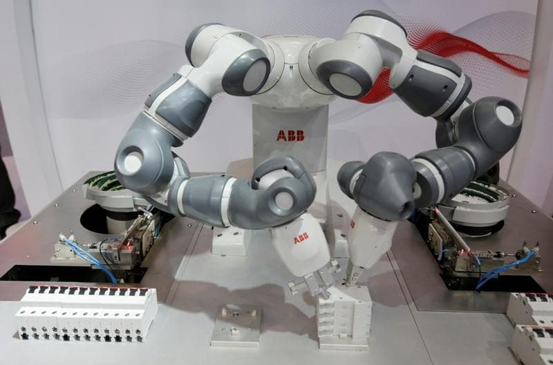 Swiss engineer ABB's earnings offer some relief as U.S., China weaken