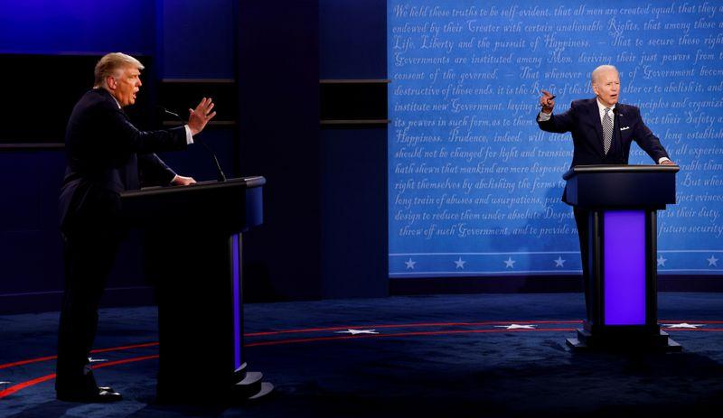 Second TrumpBiden debate to feature a mute button organizers say