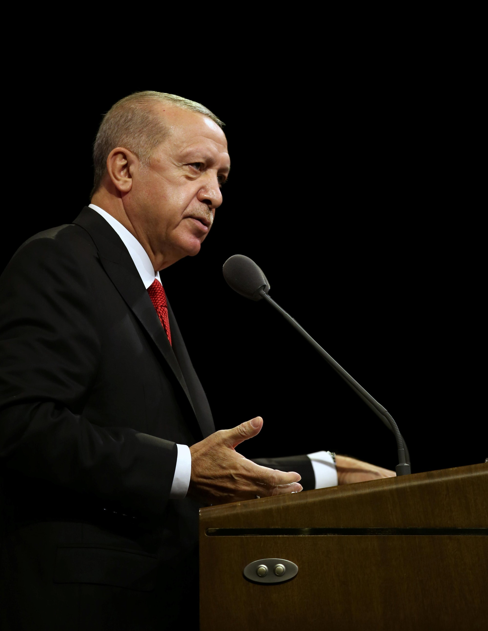 Erdogan urges Turks to boycott French goods