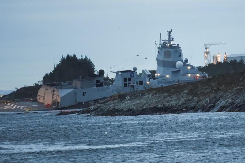 Norwegian oil, gas plants restart after tanker and frigate collision