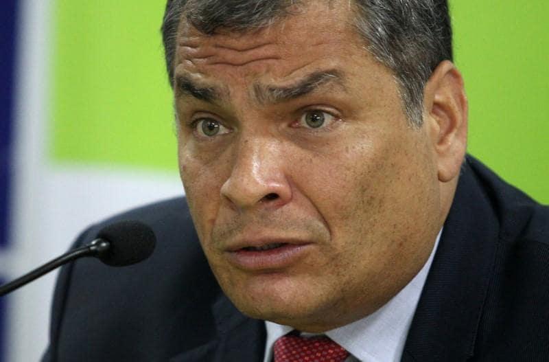 Ecuador ex-president Correa denies seeking Belgian asylum