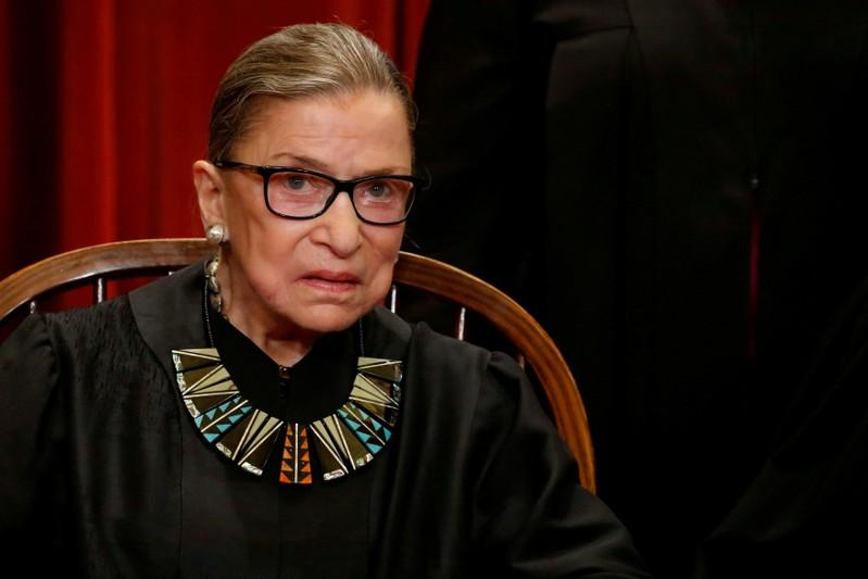 U.S. Supreme Court justice Ginsburg released from hospital