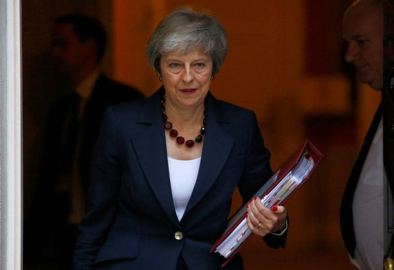 How does a leadership challenge to a Conservative UK prime minister work?