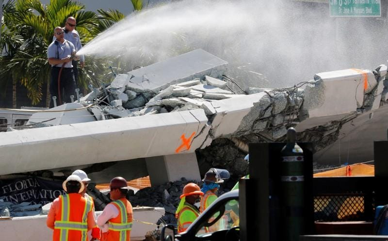 'Design errors' faulted in Florida bridge collapse: U.S. agency