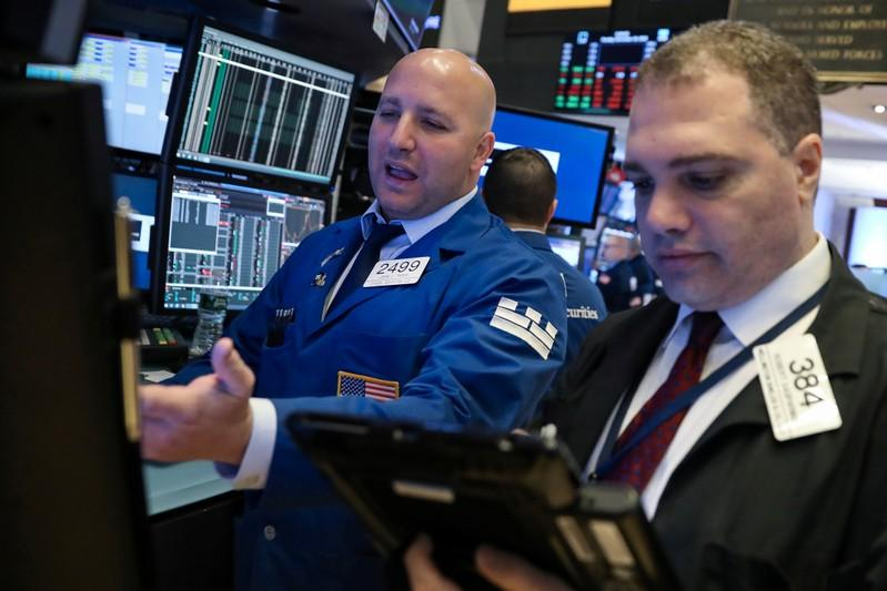 Global stocks weighed by Apple demand woes, trade tensions