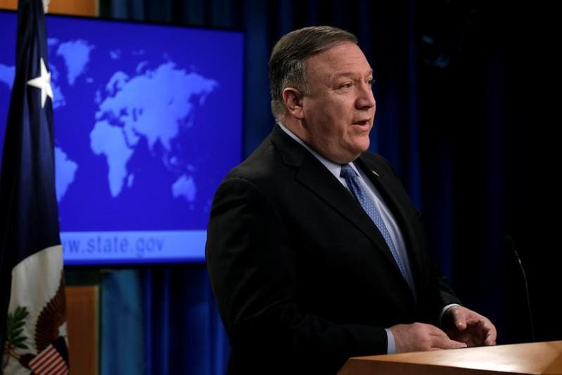 Pompeo says U.S. backs South Korean as head of police agency Interpol