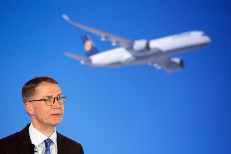 Lufthansa dismisses report that CFO wants to step down
