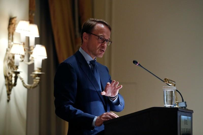 ECBs Weidmann says stock market correction could lie ahead